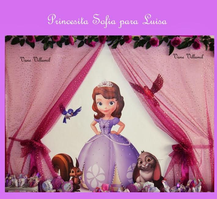 Cumple Princesita Sofia