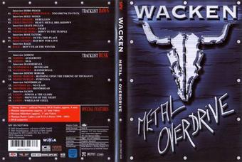 Rock Show Dvd V A Wacken Metal Overdrive