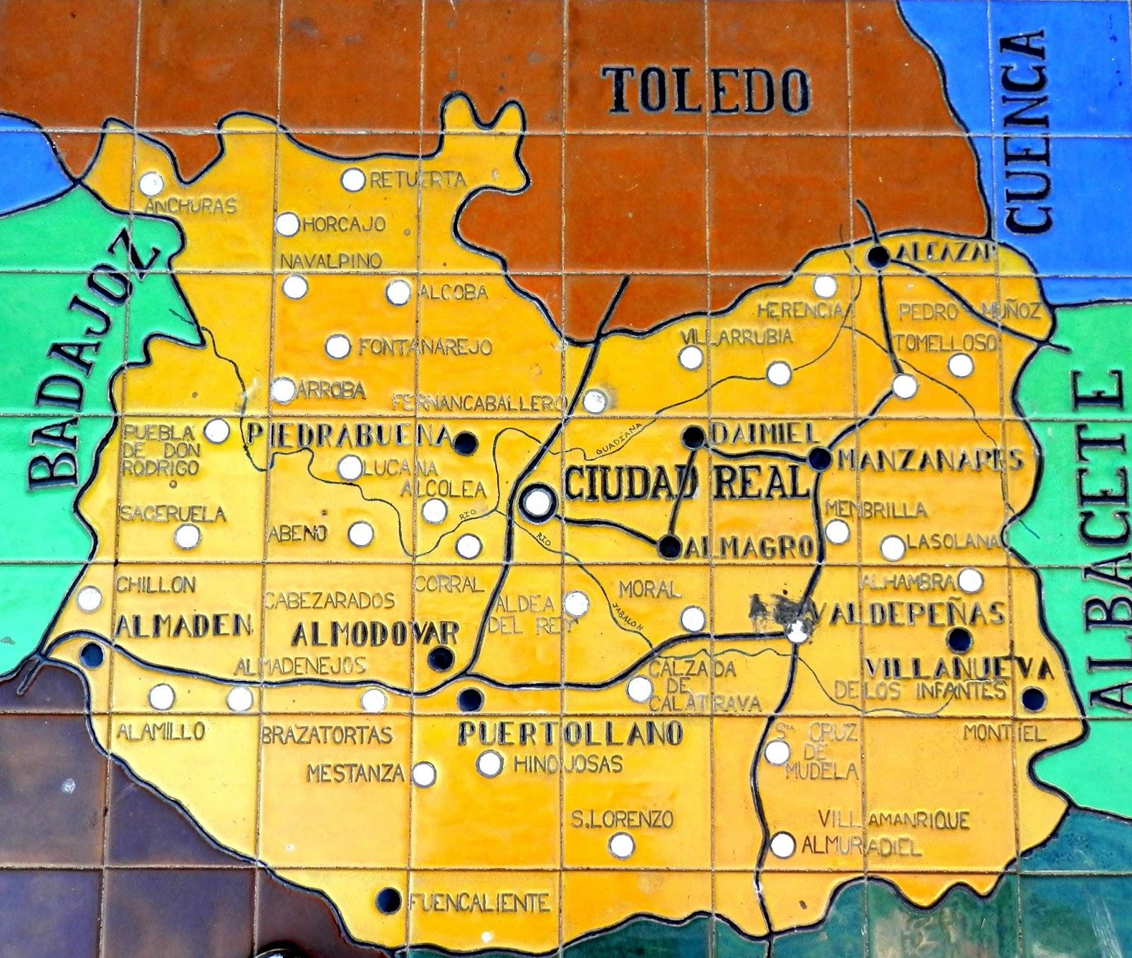 El sayon ciudad real en la plaza de espa a de sevilla - Plano de ciudad real ...
