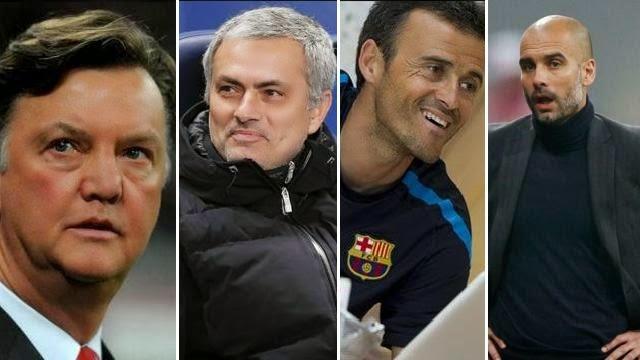 بالصور : من برشلونة تخرج اشهر المدربين في العالم