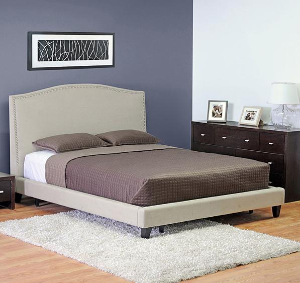 platform bed upholstered headboard  desireofnations, Headboard designs