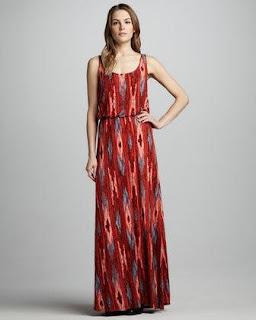 Santa Fe Style Maxi Dress