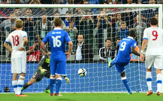Hasil Pertandingan Italia Vs Ceko 11 September 2013