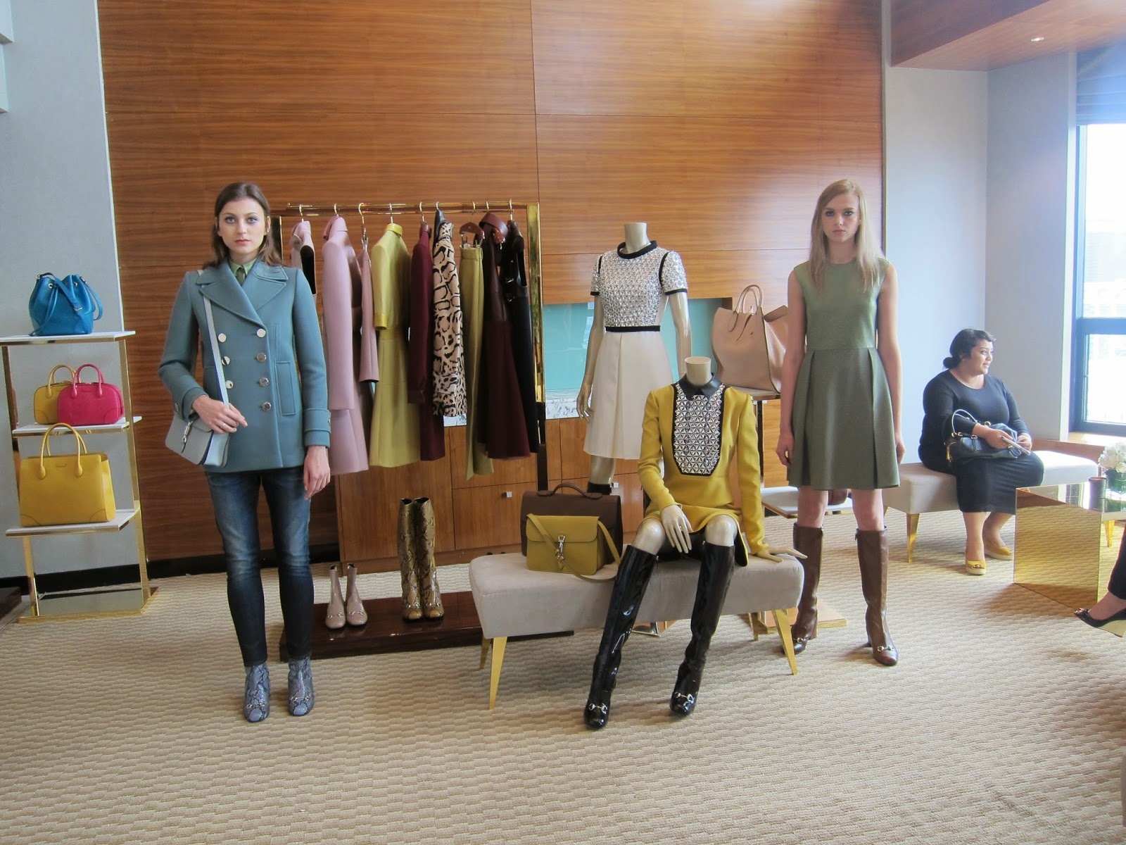 Event Post: Gucci's Fall/Winter 14 Press Day