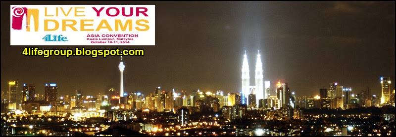 foto Live Your Dreams : 4Life Asia Convention 2014!
