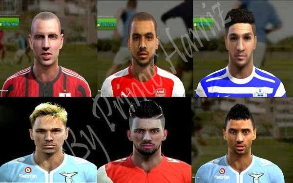 Update PES 2013 New Facepack