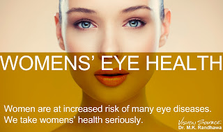 Women's glaucoma treatment in Vancouver.  We take women's eye health seriously.