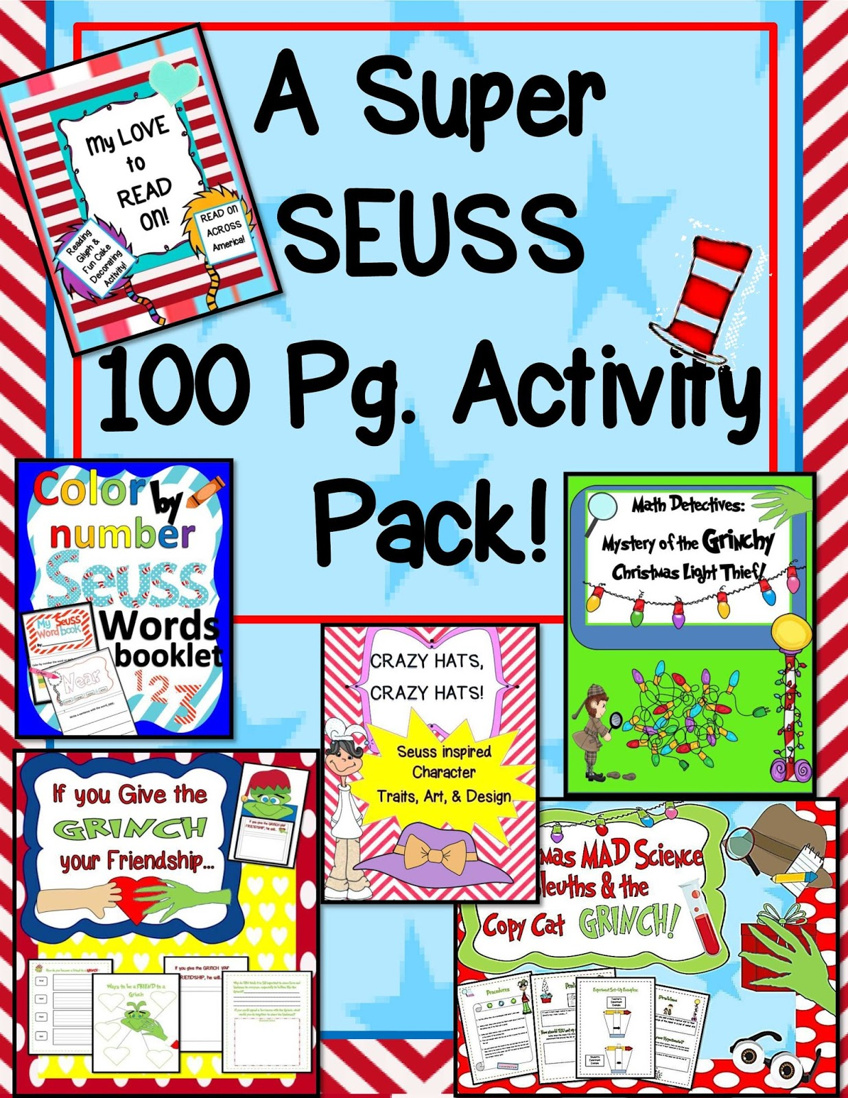 Engaging Lessons And Activities: Dr. Seuss Grinch Christmas ...