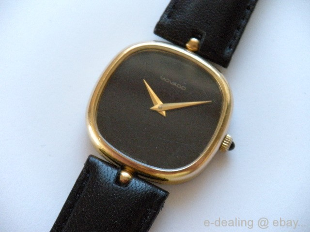 MOVADO ZENITH Mechanical ~ 17 jewels ~ Gold Tone WATCH