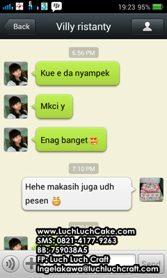 testimoni toko luch luch cake