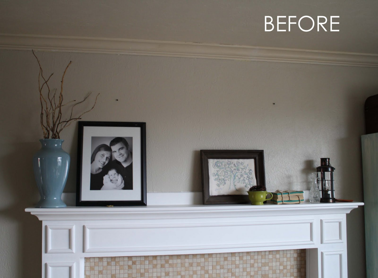running with scissors painting crown molding