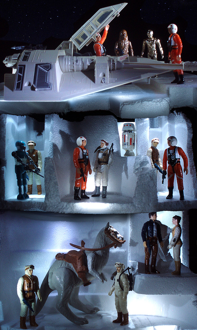 Star Wars Vintage Toys : Advanced geek photography and kenner star wars action figures