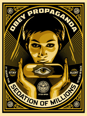 "Obey Giant ""Sedation Pill"" Screen Print by Shepard Fairey"