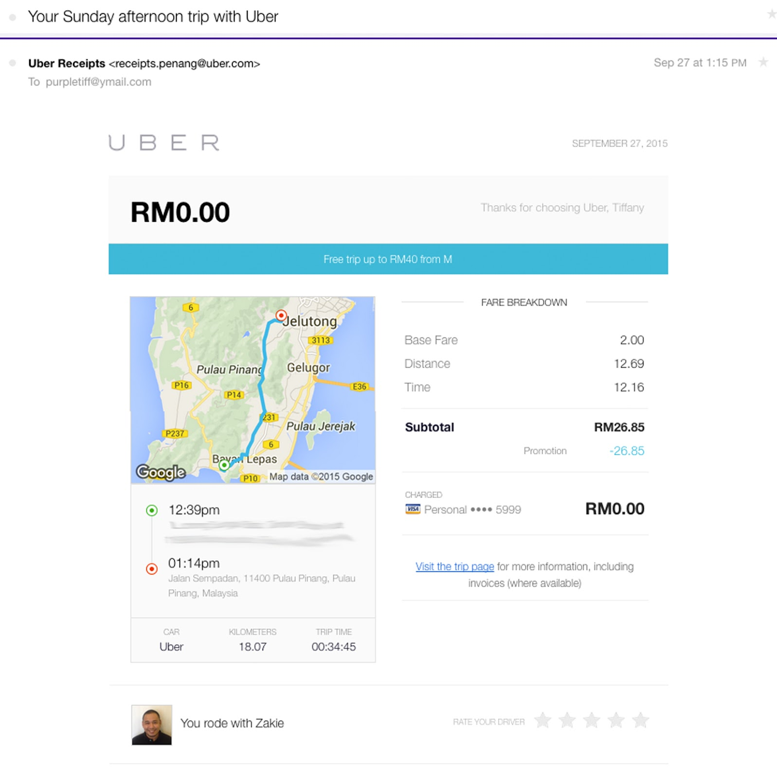 why uber is my first choice in malaysia   include free