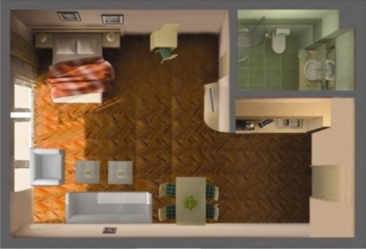 Ремонт и дизайн квартир студии