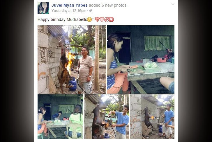 Juvel Myan Yabes Facebook post
