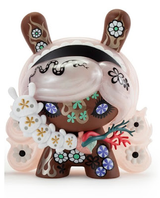 "San Diego Comic-Con 2015 Exclusive Berry Chocolate Lady Dunny 8"" Vinyl Figure by Junko Mizuno x Kidrobot"
