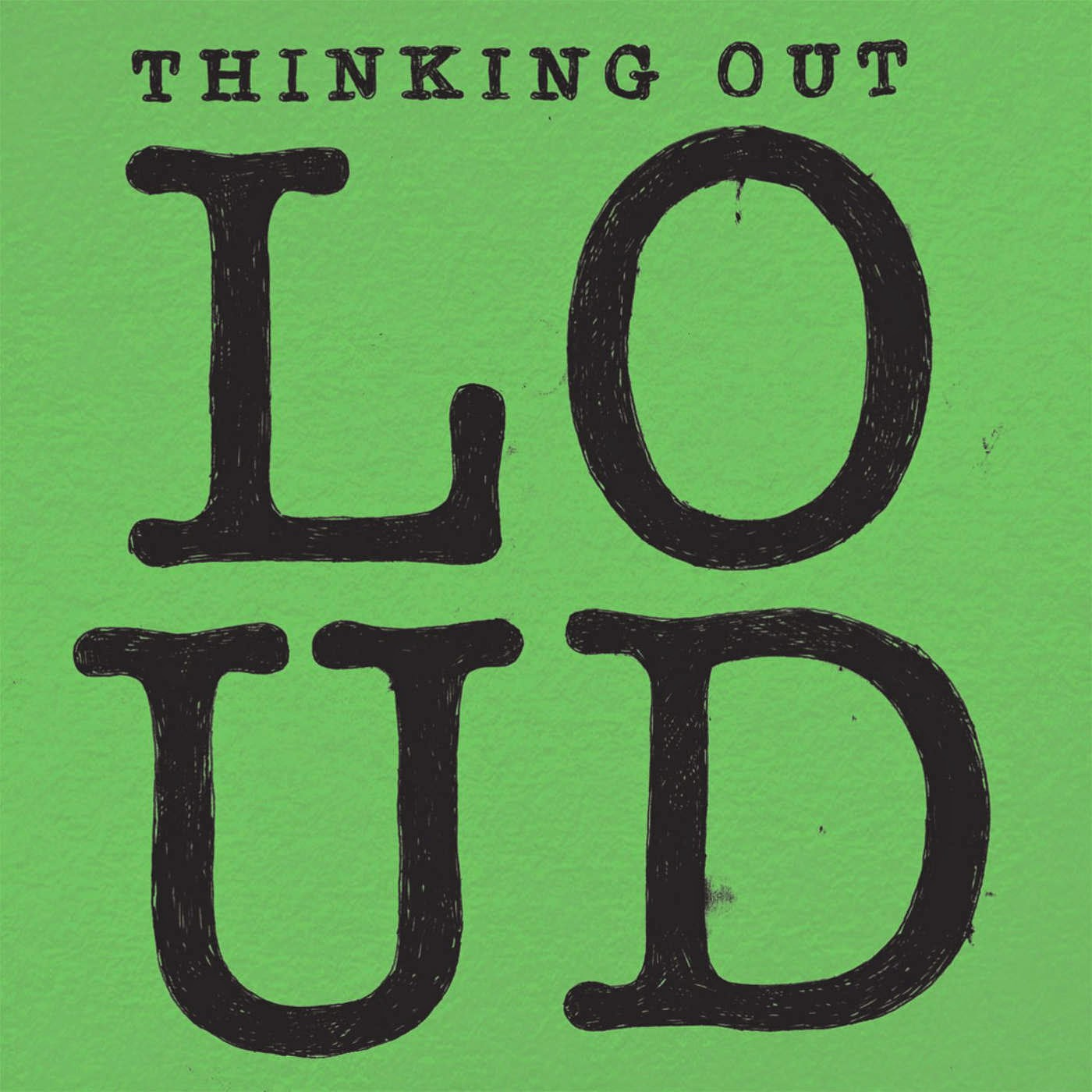 Ed Sheeran - Thinking Out Loud (Alex Adair Remix) - Single Cover