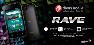 Cherry Mobile Rave For Only Php 3,299