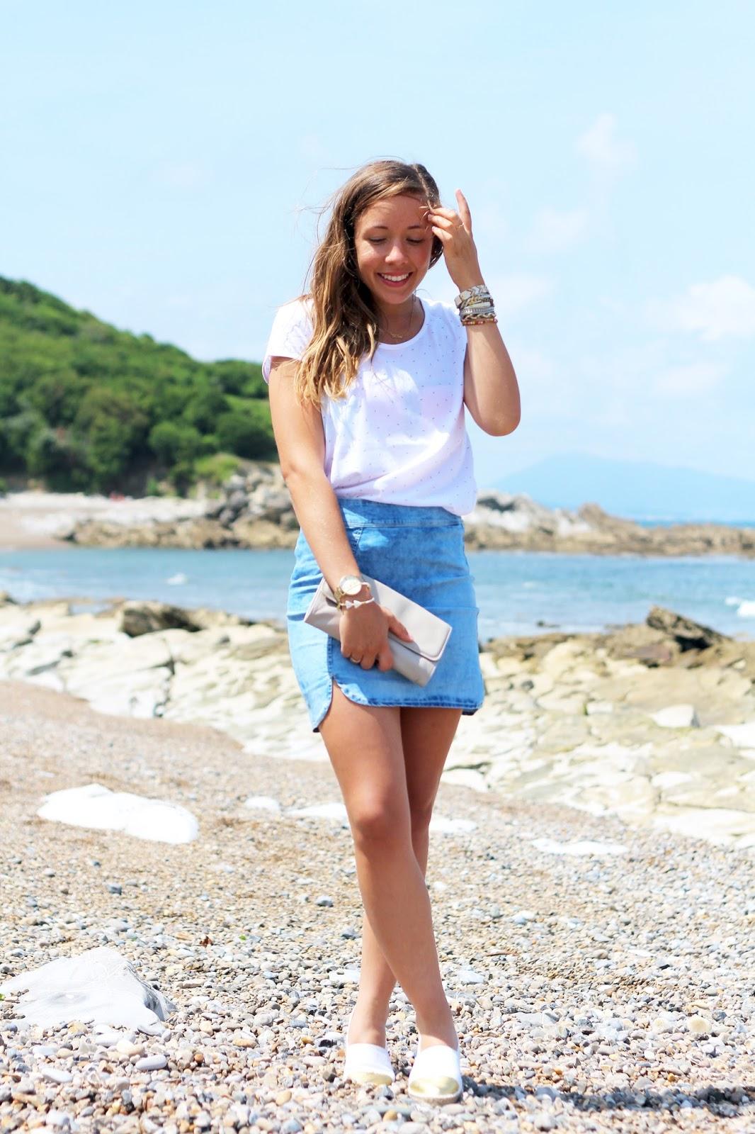 Tenue de vacances plage cote basque