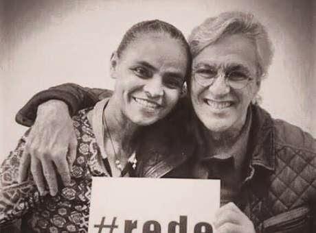 Caetano Veloso declara apoio a Marina Silva através do Facebook