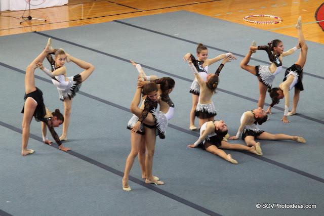 Rhythmic Gymnastics floor exercises II
