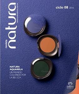 REVISTA CICLO 08 / 2016. ¡Natura Aquarela para resaltar tu belleza!