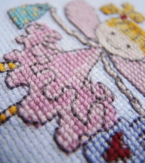 схема вышивка крестиком дети девочка для подарка своими руками американский хлопок