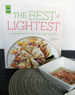 Best Light Recipes Food Network Book Review shrimp grits picture
