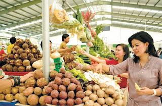 Pasar Moderen di Bintaro Jaya Perumahan Jakarta Selatan
