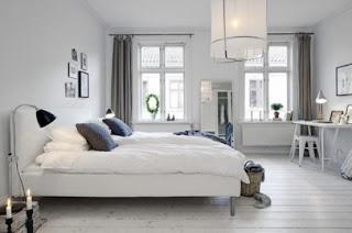 cozy scandinavian bedrooms 42 554x367 Dekorasi kamar tidur untuk cuaca dingin