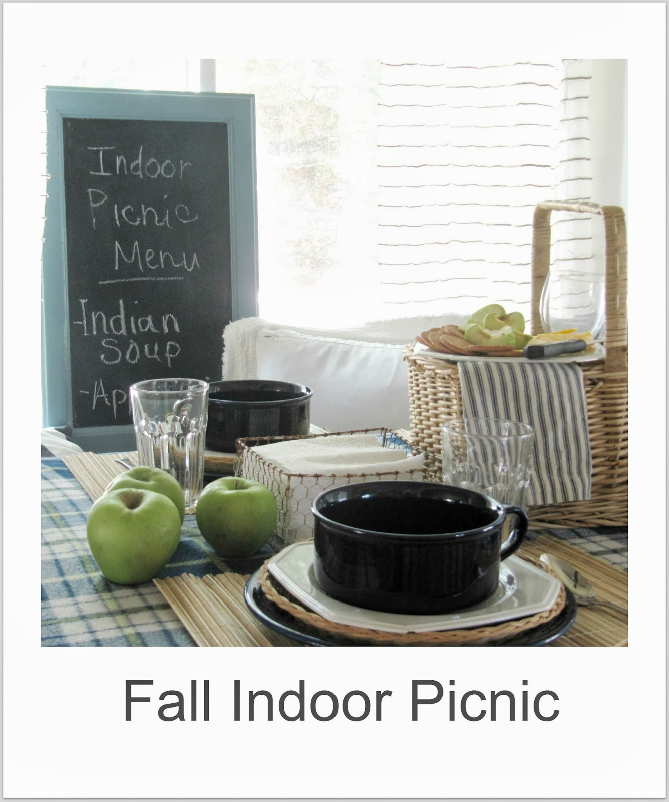 http://thewickerhouse.blogspot.com/2012/09/fall-indoor-picnic.html