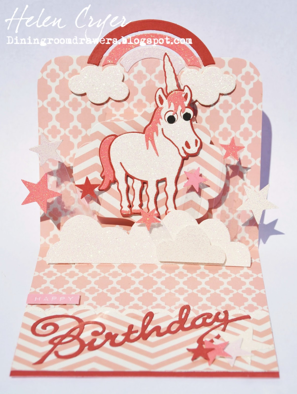 Inspirational unicorn birthday card pics laughterisaleap the dining room drawers pop it ups cocoa the horse unicorn bookmarktalkfo Gallery