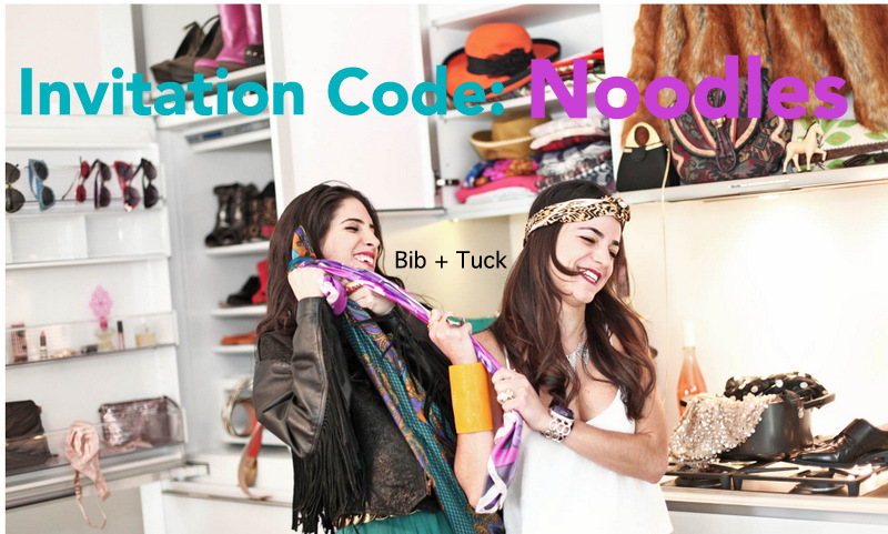 Sari A and Sari B of Bib and Tuck with invitation code from Fashion Blogger Anais Alexandre of Down to Stars