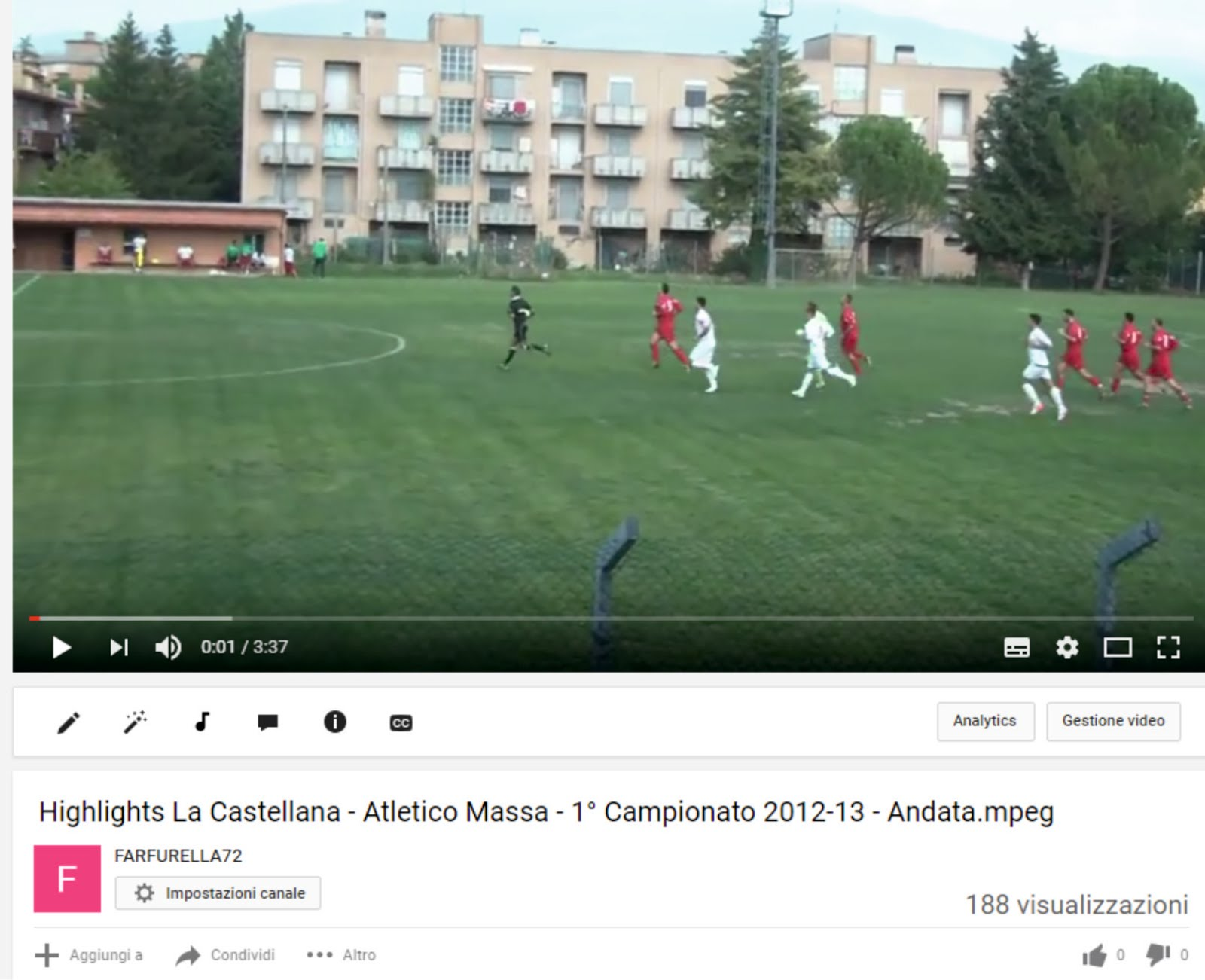 Video Atletico Massa
