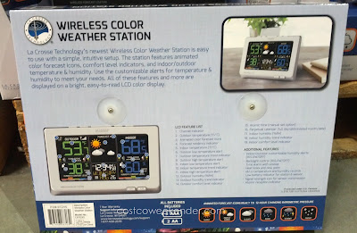 La Crosse Wireless Color Weather Station: practical and handy