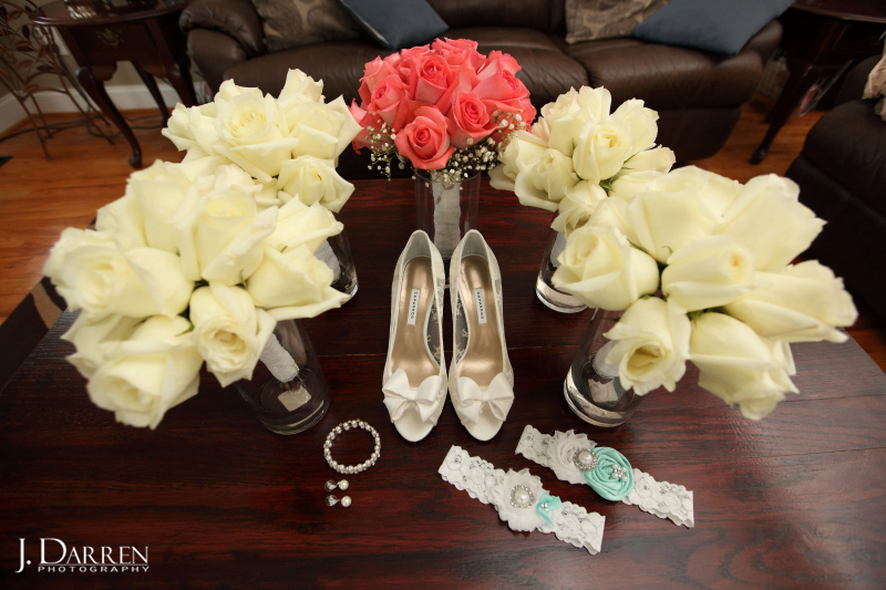 Brides wedding necessities