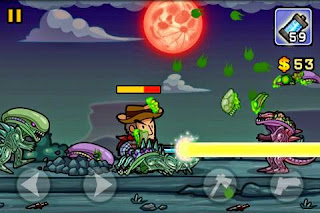 Screenshots of the Aliens Invasion for Android tablet, phone.