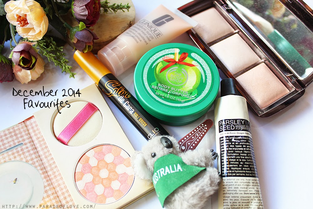 December 2014 Beauty Favourites