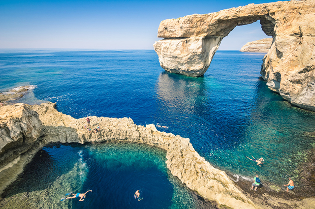 Azure Window and The Blue Hole
