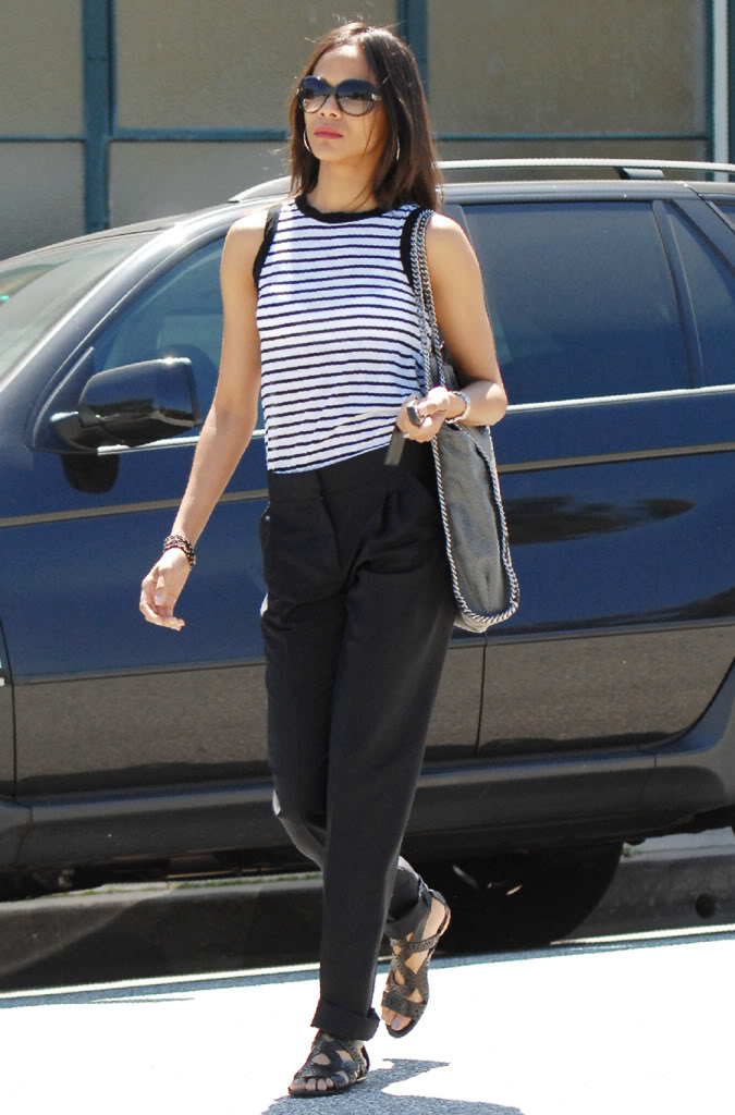 Zoe Saldana Style, Fashion Looks - StyleBistro 12