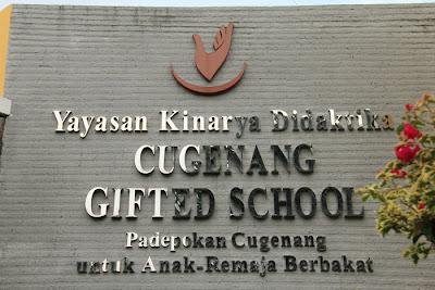 sekolah anak berbakat | cugenang