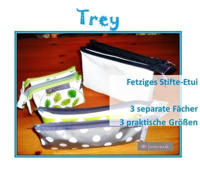 Pack Trey und los!