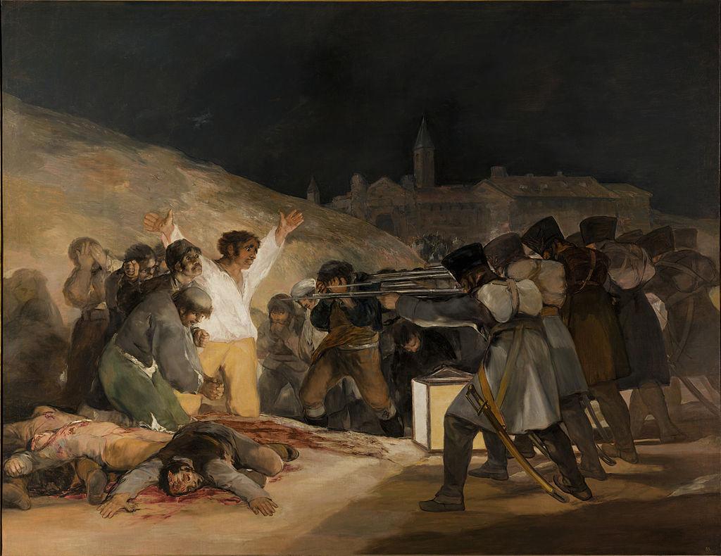 Os fusilamentos do tres de Maio 1814