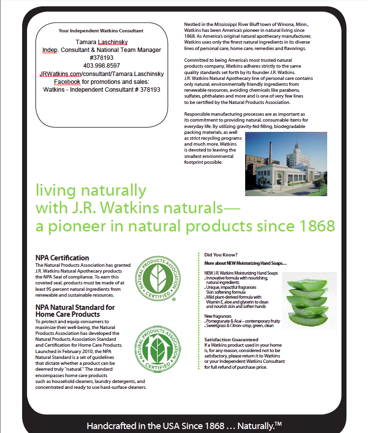 JR Watkins Sales and Specials May 2014 page 4