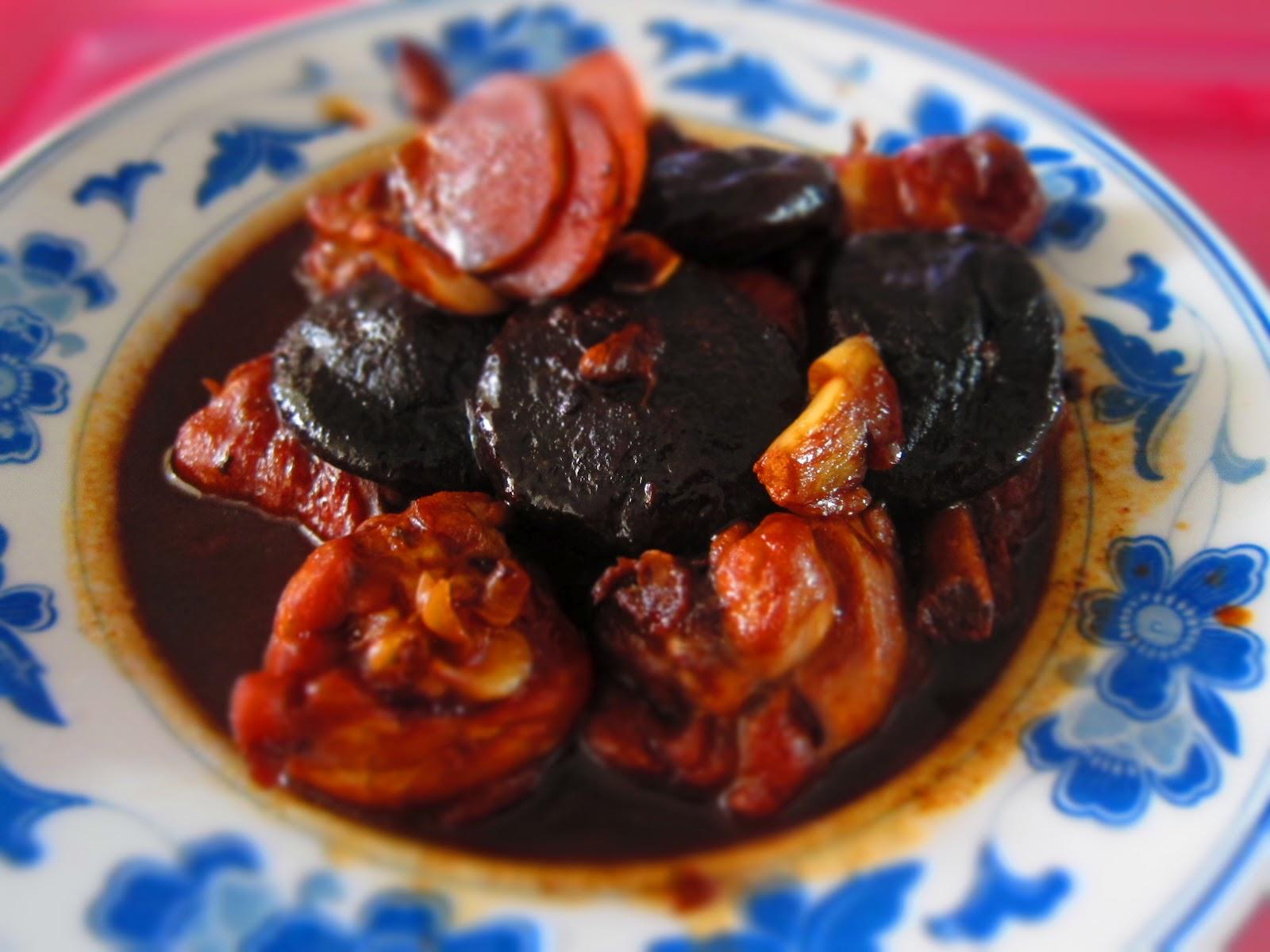 PapaCheong's 拿手好菜: Braised Chicken with Mushrooms