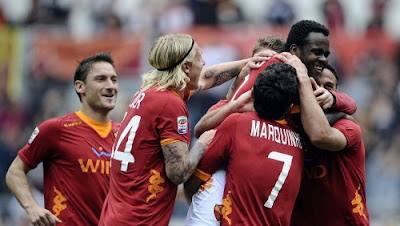 Roma Novara 5-2 highlights sky