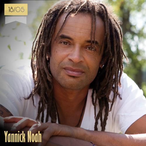 18 de mayo | Yannick Noah - @NoahYannick | Info + vídeos