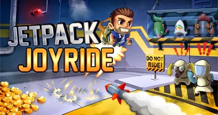 Jetpack Joyride 1.6 MOD APK (Unlimited Gold Coins)