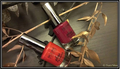 Vernis Biguine gloss and shock rouge coquelicot et so select